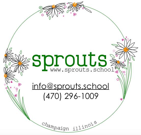 sprouts family daycare school preschool pre-k kids children childcare class art nature waldorf champaign urbana