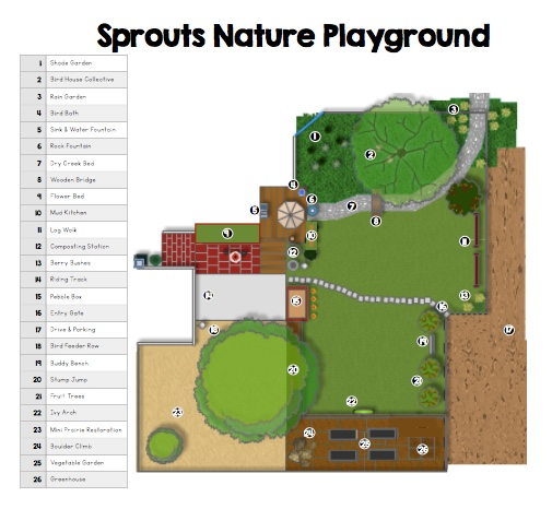 Sprouts is growing nature playground art school classes preschool daycare childcare champaign urbana mud party waldorf after school program children events kids family fun